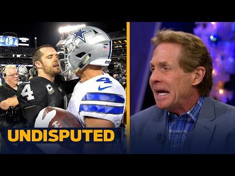 Skip Bayless reacts to the Dallas Cowboys' Week 15 win against the Oakland Raiders | UNDISPUTED