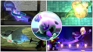 Luigi's Mansion 3 - All Bosses Captured Funny Moments