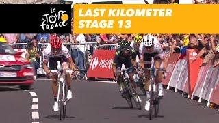 Last kilometer - Stage 13 - Tour de France 2017