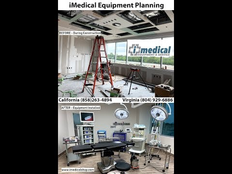 Medical Equipment Planner Before And After Surgery Center