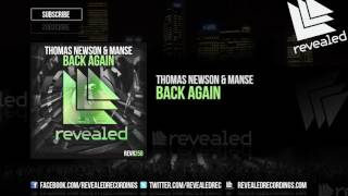 Thomas Newson & Manse - Back Again [OUT NOW!]