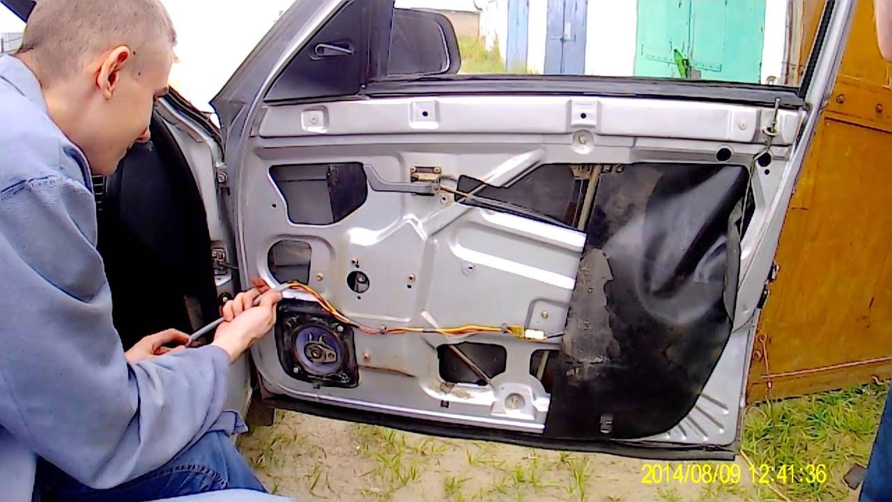 Ремонт стеклоподъемника ВАЗ 2110