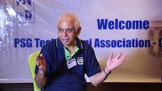 PSG Tech Alumni Association Chennai Chapter  - Interview 2017