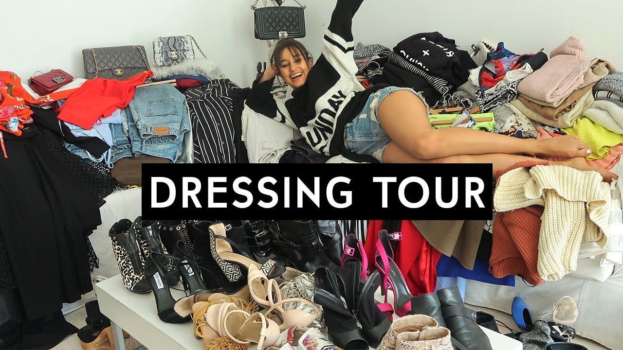 je vide mon dressing dressing tour l na situations youtube. Black Bedroom Furniture Sets. Home Design Ideas