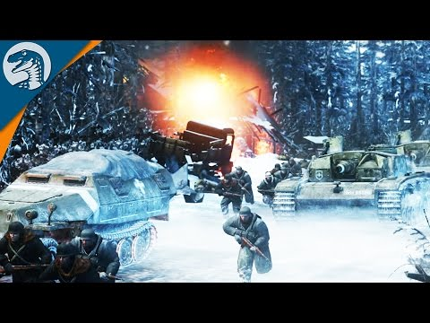 DEFENDING FORTRESS: MOSCOW | Company of Heroes 2 Gameplay 3