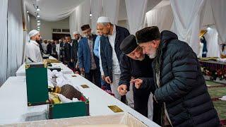В Цумадинском районе представили 35 реликвий Пророка Мухаммада ﷺ и его сподвижников