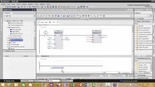 Tia Portal PLC Projenize FB FC DB Blokları ekleme