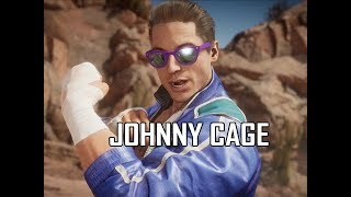 SCUMBAG JOHNNY CAGE Early Gameplay - Mortal Kombat 11 (MK11)