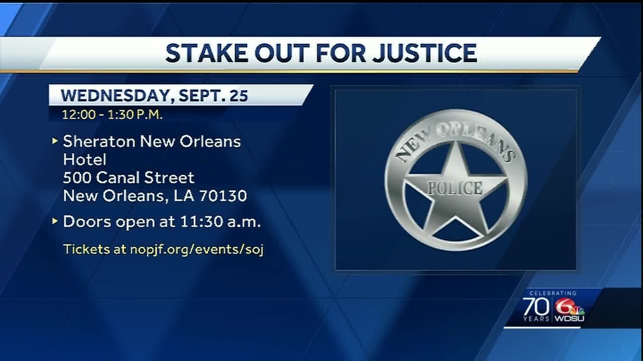 New Orleans prepare for Stake Out for Justice