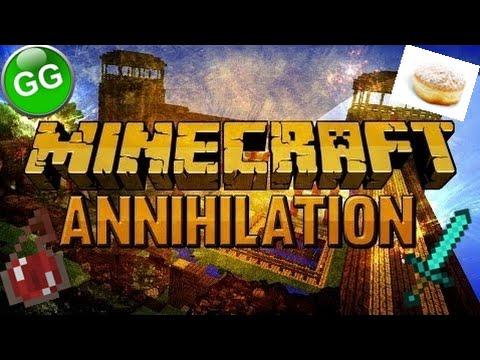 Minecraft Strength Rushes - [Annihilation] - [KOBLÍŽEK]