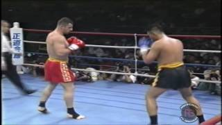 Another Tetsujin fight! This was a WKA World Muay-Thai Super Heavy ...