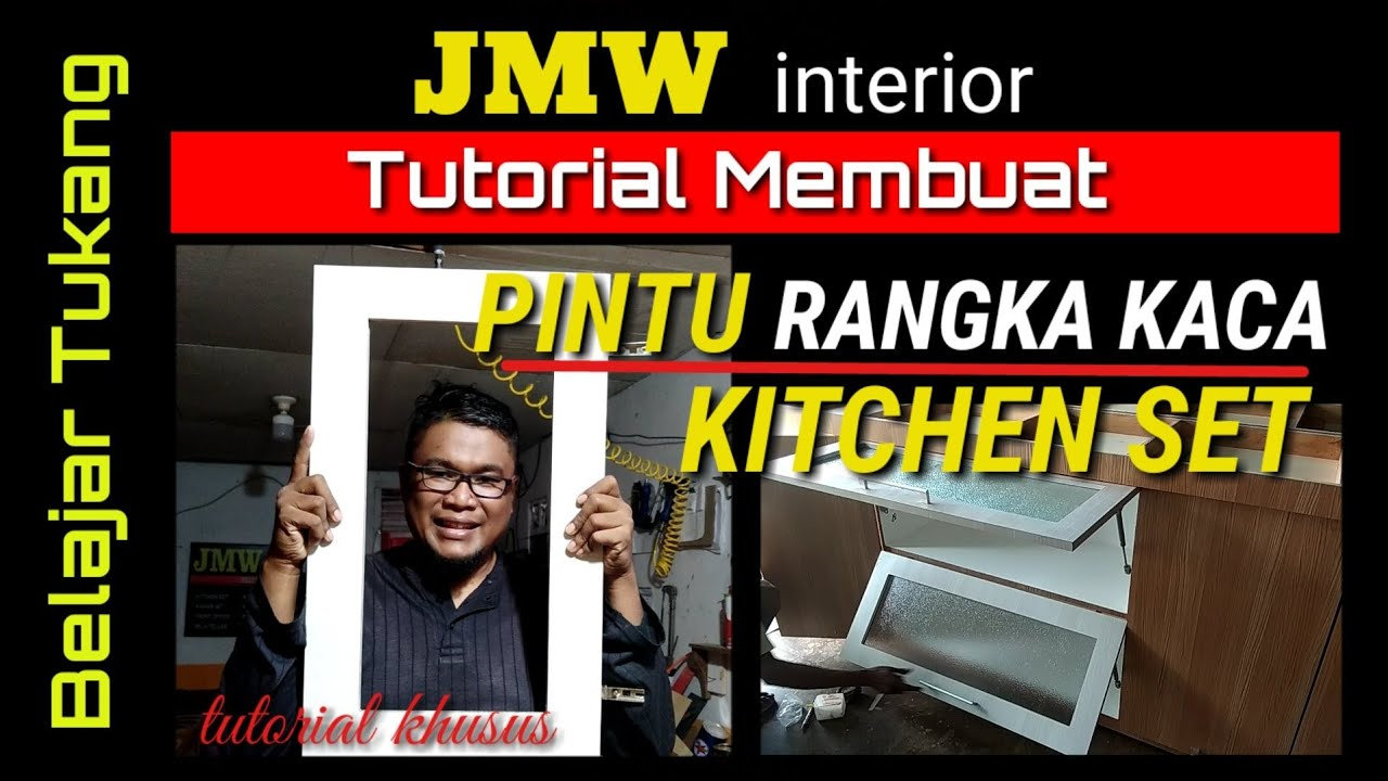 Cara Memasang Gasspring Pintu Hidrolik Kitchen Set Youtube