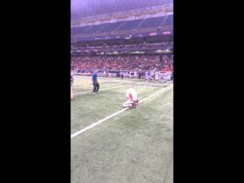 My 30 yard field goal! UTSA Louisiana Tech 26,549