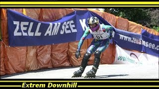 Gambar cover Speed Skating Downhill - World Championship (Run : Fabien Caron) (descente roller) 2014
