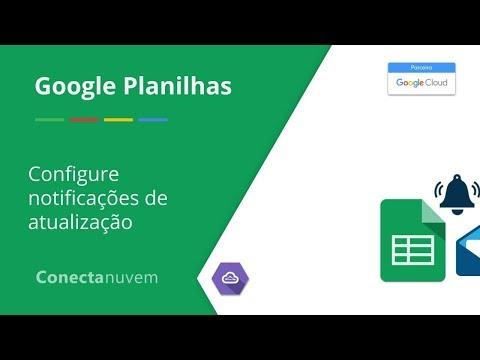 Como configurar notificações de atualização no Google Planilhas