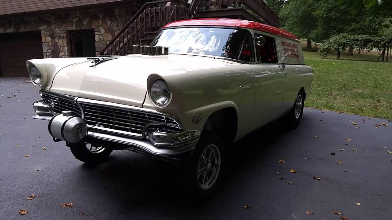 1956 ford customline wagon old car hunt - 1956 Ford Wagon Gasser