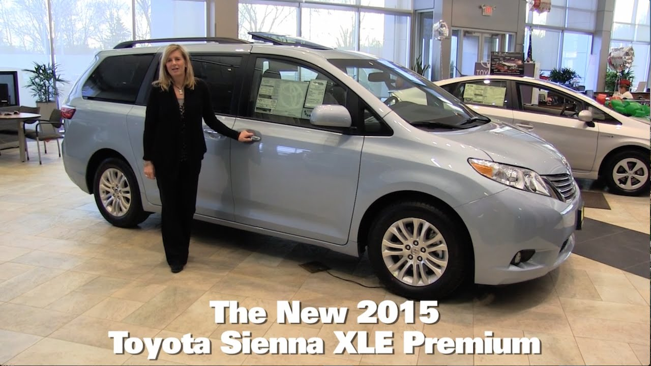 Toyota Brooklyn Park >> The New 2015 Toyota Sienna Xle Minneapolis St Paul Golden Valley Brooklyn Park Mn Walk Around
