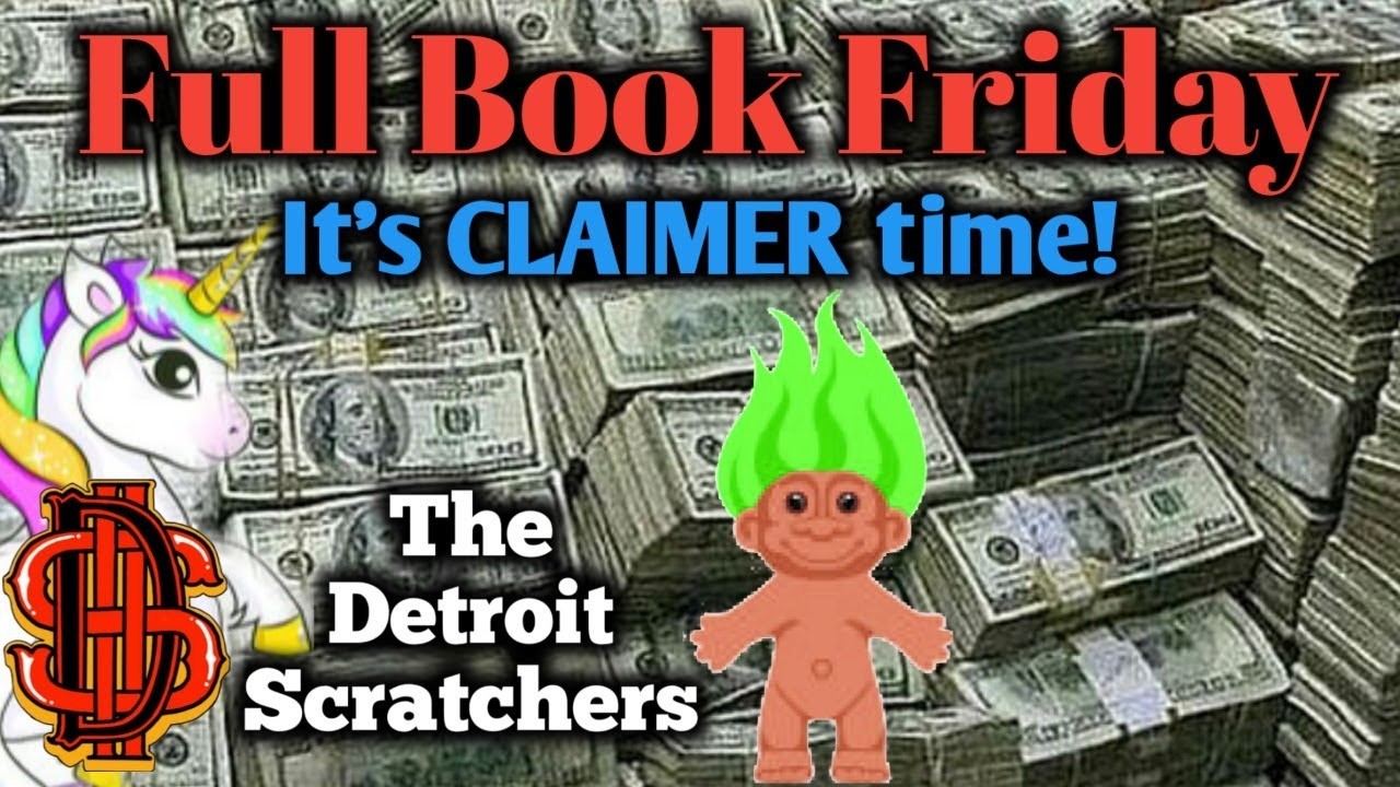 Detroit Scratchers $ FULL BOOK FRIDAY $ WIN FREE MONEY $ MUST WATCH!