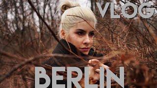 Πήγα να πέσω σε παγωμένη λίμνη! | Vlog Berlin part1 🇩🇪 | BLACK VELOUR