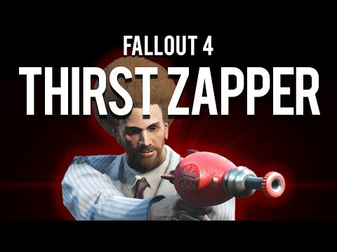 "How to make a ""Thirst Zapper"" Only build in Fallout 4"
