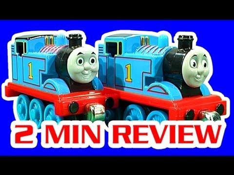 Thomas Tank Vs Thomas Tank Take N Play Toy Train Comparison Comedy Review Fail