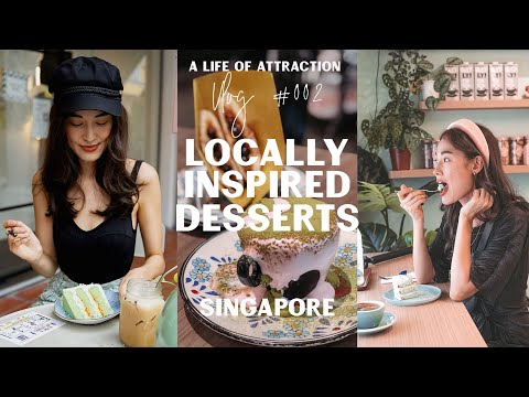 Best Local Desserts in Singapore 🍰 We tried Delicious traditional Asian Flavours!