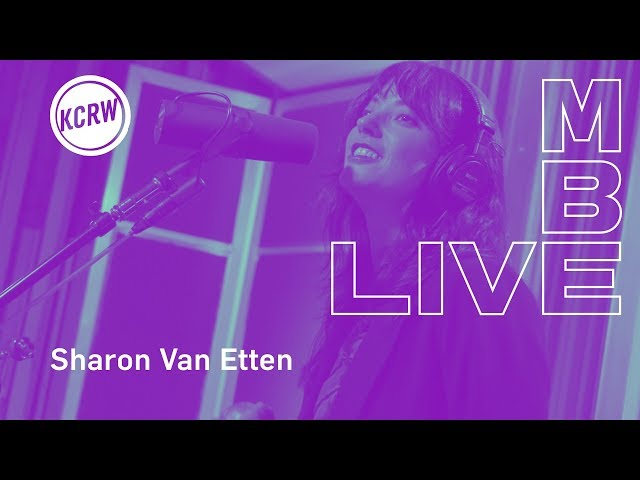 "Sharon Van Etten performing ""Jupiter 4"" live on KCRW"