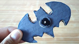 How to make Fidget Spinner at Home Without Bearings - DIY Batman Fidget Spinner