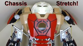 xrobots iron man hulkbuster cosplay part 21 stretching the shoulders out