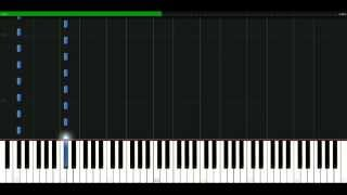 Robert Miles - Fable [Piano Tutorial] Synthesia | passkeypiano