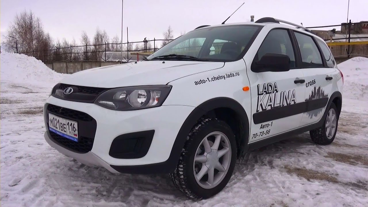 2015 Лада Калина Кросс. Обзор (интерьер, экстерьер, двигатель).