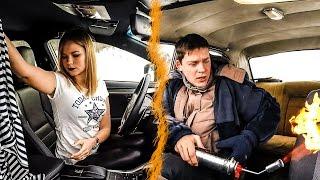 Кто греет лучше? Волга или Lexus...