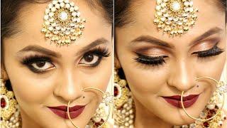 Airbrush Makeup || Nonbengali Bridal Look || Tutorial