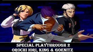 KOF 2002 (PS2) - Secret Team 2【TAS】