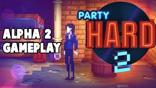 Party Hard 2 Alpha 2 Gameplay