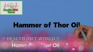 Hammer of Thor Gel, Capsule and Oil   Health Diet World
