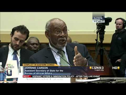 Devastating Crisis in Eastern Congo - Hearing - Africa subcommittee - Dec 11, 2012