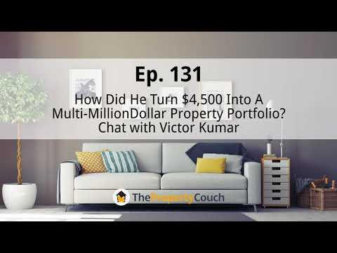 Ep. 131 | How Did He Turn $4,500 Into A Multi-Million Dollar Portfolio?- Victor Kumar