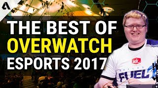 Best Overwatch Esports Moments of 2017 ft. OGN APEX / Contenders / World Cup / OWL Preseason