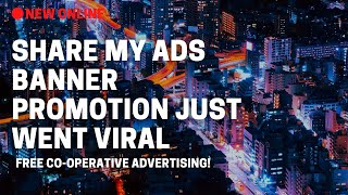 Share My Ads Banner Ad Network & Commission System Have Your Ads On Other People sites By IMRandell