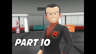 POKEMON LET'S GO PIKACHU & EEVEE Walkthrough Part 10 - Giovanni