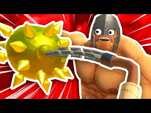MASSIVE FLAIL CHALLENGE IN GORN VR (GORN Gladiator Simulator Funny Gameplay HTC Vive Gameplay)