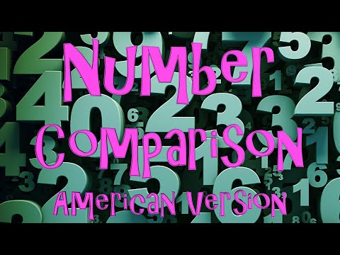 Number Comparison (American Version)