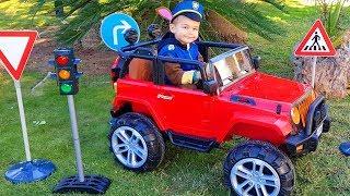 Dima bracht verkeersborden en verkeerslichten / Dima en Auto's