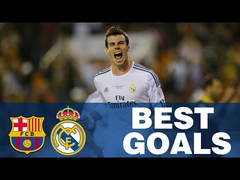 Real Madrid's BEST Copa del Rey goals away at Barcelona!