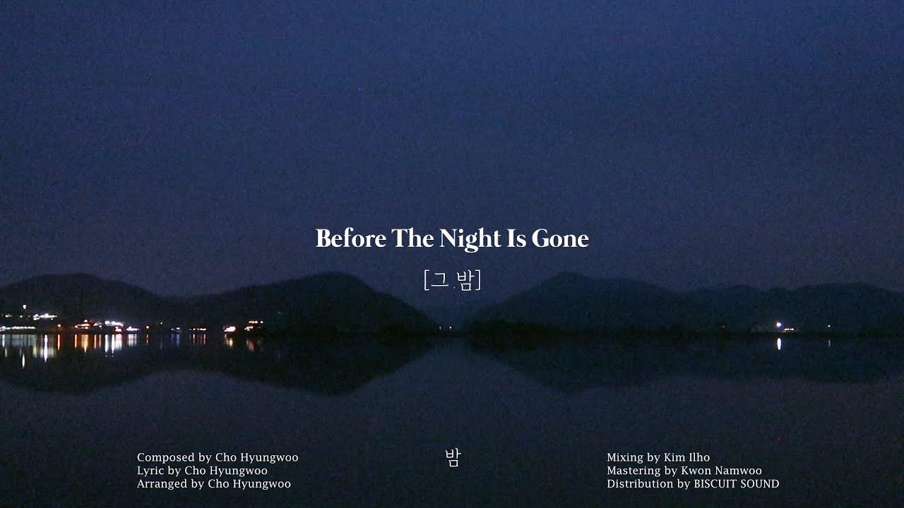 조형우(ChoHyungWoo) - 그 밤(Before The Night Is Gone)(Audio Visualizer)