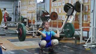 Маклаков Тимур, 13 лет вк 46 Толчок 50 кг