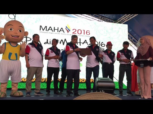 Majlis Penutup #MAHA2016 oleh TPM