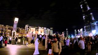 UAE Burj Khalifa nightlife -The Dubai Mall