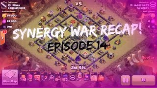 """Clash of Clans: Synergy War Recap! """"WE SUPPORT BREAST CANCER!"""" #14"""